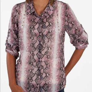 Day trip-chiffon shirt